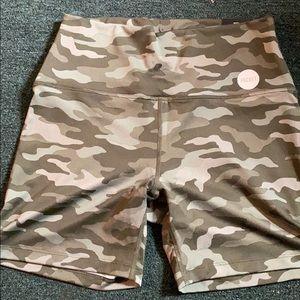 NWT VS pink bike shorts size large